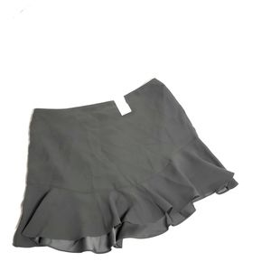 Banana Republic Women's Size 14 Mini Skirt Gray